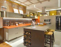 Cozinha Kitchen Dining, Dining Room, Interior Design Kitchen, Future House, Sweet Home, Table, Furniture, Home Decor, Vivo