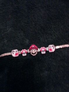 Boo, mushroom and mario beaded bracelet I made