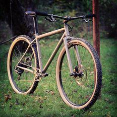 Pure #rigidracer !! #vpacebikes #titaniumframe #29er with #rigidfork #sram #xx1…