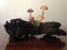 Decorative Glowing Mushrooms LED Lamp