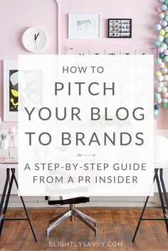 Want to learn how to pitch your blog to brands for sponsored posts and collaborations? Working in PR, here's are blogging tips that I give to bloggers and influencers on how to work with brands as a blogger.