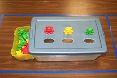 Workbox Ideas - Autism Resources. This page has 15 different pictures of quick and simple task boxes you can make and add to your classroom. Task boxes are a great way to teach your students to complete work independently while working on various academic and motor skills. See them all at: http://isd742autismresources.weebly.com/workbox-ideas.html