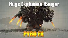 Huge Explosion Hangar