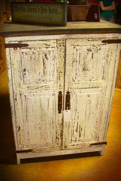 Rustic Pine Hidalgo Armoire in Antique White - $397.00