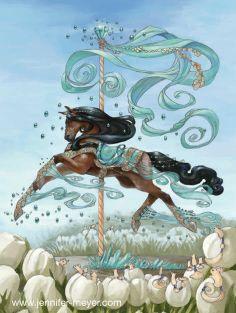 Illustrations And Comic Art Bella Sara Spring Cards