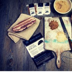 Homemade Cured Bacon from Ross and Ross Food - cotswold life Unusual Christmas Gifts, Unusual Gifts, Curing Bacon, Bacon Gifts, Birthday Presents For Dad, How To Make Bacon, Spoil Yourself, Good Enough To Eat, Bacon Recipes