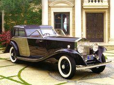1930 ROLLS-ROYCE PHANTOM II BREWSTER TOWN CAR BLACK FVR