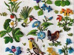 Crewel: красота, тепло и уют вышивки шерстью - Ярмарка Мастеров - ручная работа, handmade