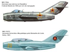 AVIÕES MILITARES: Mikoyan-Gurevich MiG-15 Fagot