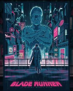 Blade Runner Blade Runner Poster, Blade Runner Art, Blade Runner 2049, Blade Runner Wallpaper, Cover Art, Runner Tattoo, Cool Posters, Movie Posters, Star Wars Episode Iv