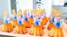 Traktatie prinsessen cupcakes voor meisjes. Makkelijk en leuk om te maken! Inspiratie om iets betoverends uit te delen.