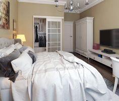 спальня с гардеробной