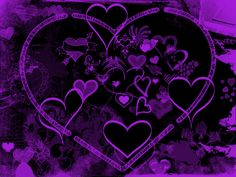 Google Image Result for http://th05.deviantart.net/fs24/PRE/f/2008/030/5/c/Purple_Hearts_by_Daemonika.jpg