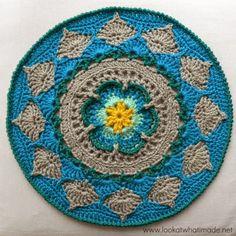 crochelinhasagulhas: Mandala em crochê