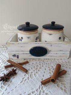 """Купить Набор для специй """"Смородинка"""" - комбинированный, набор для кухни, набор для специй, для специй, короб для хранения"""