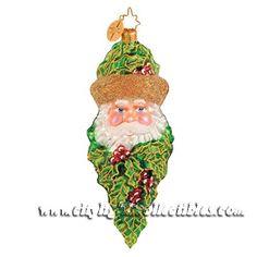 Christopher Radko Ornaments! Old World Christmas Ornaments, Santa Ornaments, Santa Christmas, Christmas Balls, Xmas Tree, All Things Christmas, Vintage Christmas, Christmas Ideas, Christopher Radko Ornaments