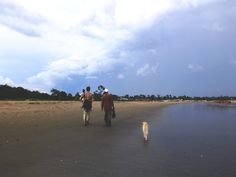 And the rains came down - and the power followed - Gunjor fishing village, The Gambia, West Africa. Image © Helen Jones-Florio
