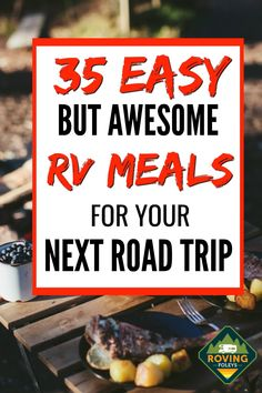 Camping Meal Planning, Best Camping Meals, Camping Menu, Camping Desserts, Travel Trailer Camping, Camping Recipes, Camping Ideas, Camping Foods, Camping Cooking