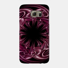 Circle of life III #phonecases, #design ,#abstract , #vectors, #purple , #3d
