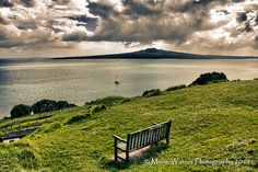 Incredible view of #rangitoto - a volcano in #Auckland, #NewZealand