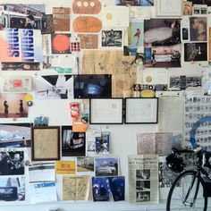 Definitely will have to create a pinboard for the new office. Taken at local projects, a design studio in NYC where our friend Michael deal works.