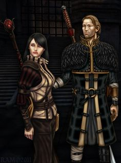 Anders and Hawke from DA2.