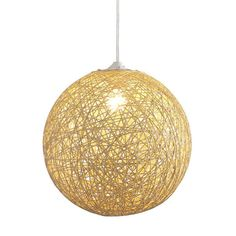 Circular String Lamp