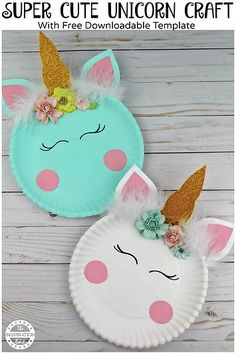 Paper Plate Crafts Easy Unicorn Craft Idea · The Inspiration Edit - Unicorn Crafts DIY - Today we have a super fun and easy paper plate craft to share. I really love paper plate crafts and -