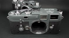 Leica M3 and IIIF grey repaint