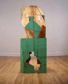 Mel Kendrick, 'Untitled (Green Block)'