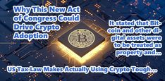 Why This New Act of Congress Could Drive Crypto Adoption – KryptoGears Us Tax, Capital Gain, Members Of Congress, Cryptocurrency, Things That Bounce, Acting, Investing, Adoption, News