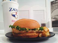 #Zaxbys Grilled Chicken Sandwich Meal