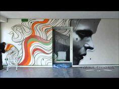 OMEN by CorporateStays.com. Local graffiti artist invited to design our new apartment