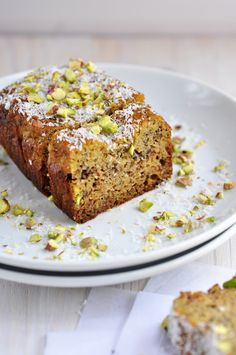 Anja's Food 4 Thought: Lemon Coconut Loaf - grain free