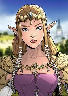 Princess of Hyrule by hannelArt.deviantart.com on @DeviantArt