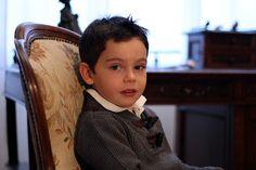 #Siviglia grey sweater and trousers #fallwinter2014 #FW14 #children #kids #childrenwear #kidswear #kidsfashiontrends #girls #boys