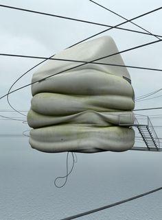 Concrete Misplot Houses by ZEITGUISED , via Behance