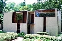 Margaret Esherick House. 1961. Chestnut Hill, Philadelphia, Pennsylvania. Louis I. Kahn.