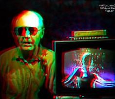 Al Razutis is an educator, innovator, and artist in holographic art and technologies, motion-picture film, and stereoscopic video art. Hologram, Holographic, 3d Video, Art And Technology, Alchemist, Artist, Pictures, Fictional Characters, Design