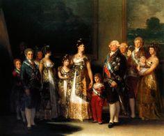 "Francisco Goya, ""La famille de Charles IV"", 1801"
