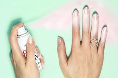 Spray-on nail polish will save you if you can't paint your own nails