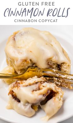These gluten free cinnamon rolls are out-of-control delicious! They taste like Cinnabon copycats, but with zero gluten. They're soft and tender with a perfect swirly filling and cream cheese frosting. Perfect for Christmas morning or anytime! Gluten Free Flour, Gluten Free Baking, Gluten Free Recipes, Gf Recipes, 9x13 Baking Dish, Baking Flour, Christmas Breakfast, Christmas Morning, Breakfast Dessert
