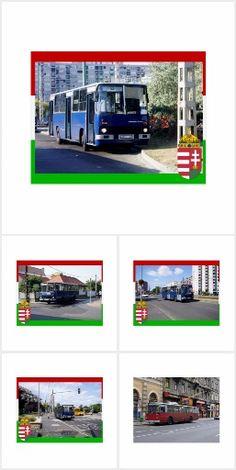 Budapest Busse  Postkarten
