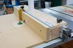 Router table - table saw mount