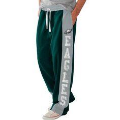 Philadelphia Eagles Tackle Sweatpants - Midnight Green/Ash - NFLShop.com