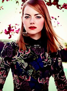 "Pin for Later: Why Emma Stone Calls Herself a ""Bland, Basic B*tch"""