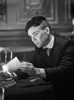 """Cillian Murphy. """"She was one woman, Thomas. Maybe it's time you forgot about her."""""""