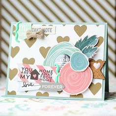 Card created by Scraptastic Kit Club DT Member Lea Lawson with the Worth Wondering kit