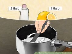 How to Make Homemade Polymer Clay Substitute. Are you tired of running to the craft store for expensive polymer clay? This wikiHow will show you how to make your own polymer clay substitute. Keep in mind, however, that these homemade clays. Homemade Polymer Clay, Polymer Clay Recipe, Polymer Clay Dolls, Polymer Clay Crafts, Diy Clay, Polymer Clay Jewelry, How To Make Clay, How To Make Homemade, Porcelain Clay