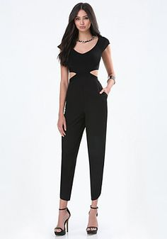 8ae1eac81742 bebe Off Shoulder Jumpsuit Off Shoulder Jumpsuit